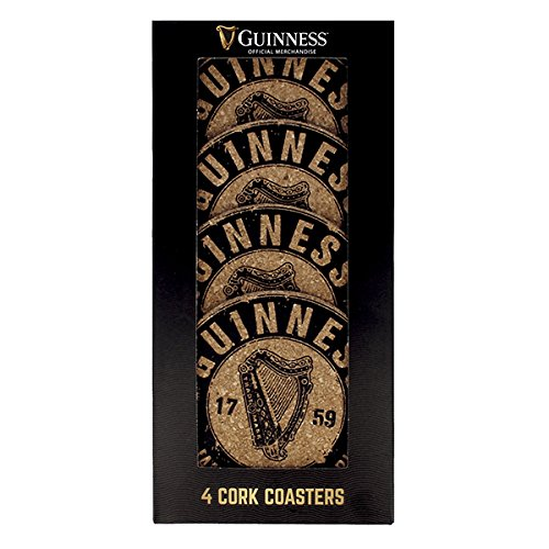 Guinness Kork Untersetzer (4er Packung)