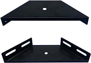 Hoekbaleinverbinder, 2 stuks hoekhoekbeugels bretels trapeziumflens hoekbeugel hoge prestaties plankbeugel meubelbevestigi...