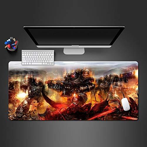 80*30cm*3mmHot Warhammer Mauspad Gute Qualität Gummi Pad Spieler Spiel Mousepad Computer Büro Maus Tastatur l Weihnachtsgeschenke