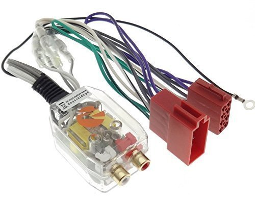 Endstufe Adapter High Low Converter ISO CINCH Plug&Play Verstärker Auto PKW KFZ