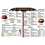 REMEDIA PUBLICATIONS Menu Math: The Hamburger Hut Book, 6 Extra Menus