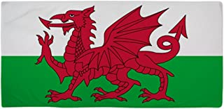 CafePress Welsh Flag of Wales Large Beach Towel, Soft 30