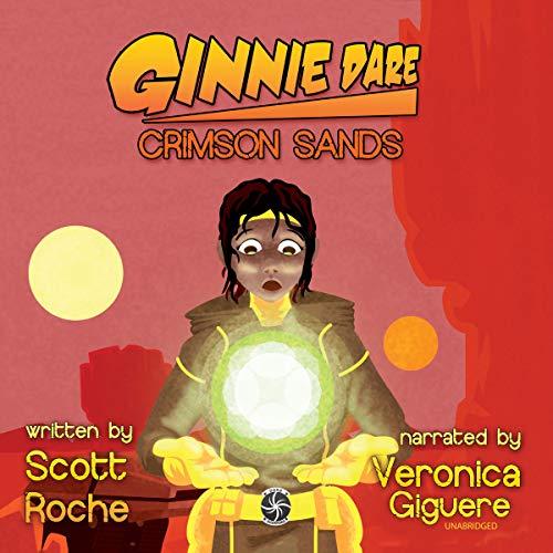 Ginnie Dare: Crimson Sands audiobook cover art