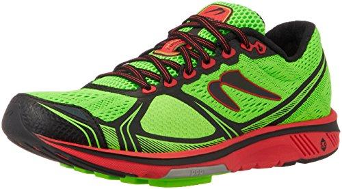 Newton Running Herren Motion 7 Laufschuhe, Grün (Lime/Red 001), 41 EU