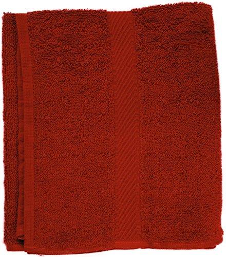 Fripac-Medis Toalla de manos, 50 x 90 cm, color rojo