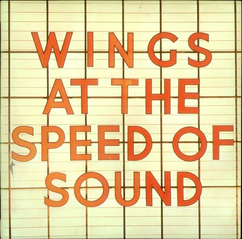 Paul McCartney and Wings At The Speed Of Sound - Sample Stickered 1976 UK vinyl LP PAS10010