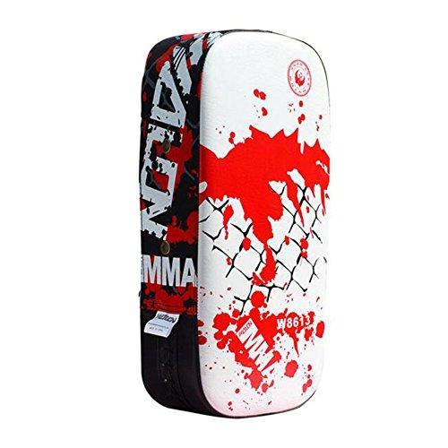 Black Temptation 1 El Engrosamiento Entrenamiento del Boxeo Objetivo Pie Mano Objetivo de protección del Engranaje-White