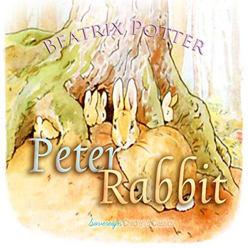 Peter Rabbit audiobook cover art
