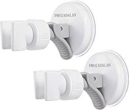 Douchekophouder, zuignap, verstelbare douchehouder, badkamerzuignap met 360° draaibare douchehouder voor handdouche, afnee...