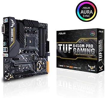 Asus TUF B450M-Pro Gaming AMD Ryzen 3 Micro-ATX Motherboard
