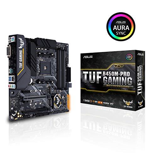 ASUS AMD B450 搭載 AM4 対応 マザーボード TUF B450M-PRO GAMING【MicroATX】【 第3世代 AMD Ryzen CPU に...