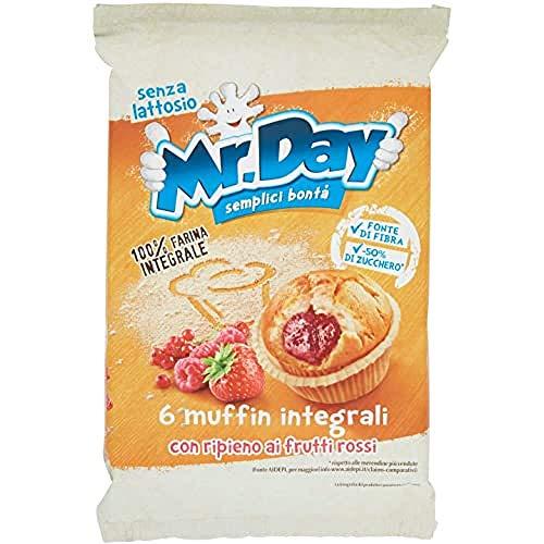 Mr. Day Muffin con Ripieno ai Frutti Rossi, 252g