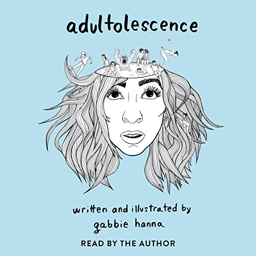 Adultolescence audiobook cover art
