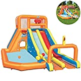 AUZZO HOME Castillos Hinchables astillo Inflable trampolín Inflable Juguetes...