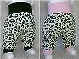 Baby Pumphose Leo Leopard Jersey handmade Puschel-Design
