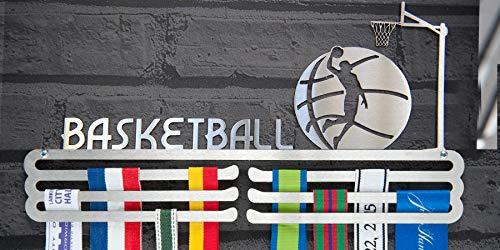 Colgador para medallas de baloncesto