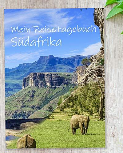 Reisetagebuch Südafrika zum Selberschreiben | Mit spannenden Aufgaben und viel Abwechslung | gestalte deinen persönlichen Reiseführer mit deinen Highlights in Afrika - Geschenkidee | Enjoytheworld