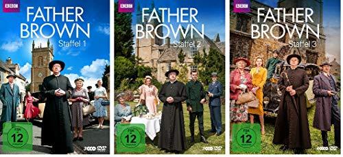 Father Brown - komplette Staffel 1-3 im Set - Deutsche Originalware [10 DVDs]