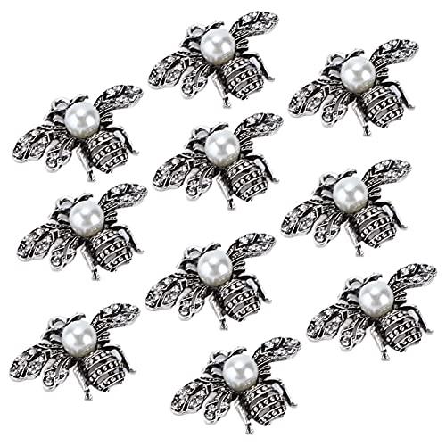 Alfinetes de abelha, alfinetes de strass resistente durável para decoração de sapatos de roupas para decoração de bolsas para decoração de acessórios de cabelo(#2)