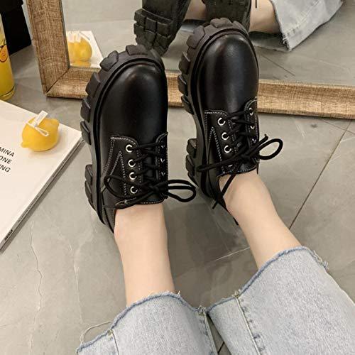 Mary Jane Scarpe Uniforme Scolastica Giapponese Scarpe da Studente Ragazze Donna Kawaii Lolita Soft Sister Punta Tonda Piattaforma Scarpe con Tacco Basso