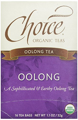 Choice Organic, Oolong Tea, 16 ct