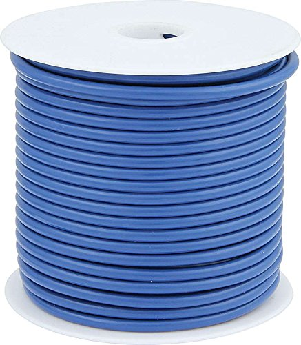 Allstar Performance ALL76568 12 AWG Primary Wire, Blue, 100'