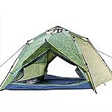 HUIYAN Camping Zelte 2-3 Personen Zelt Camping Hydraulik | Automatische Schnellöffnungswasserdicht...