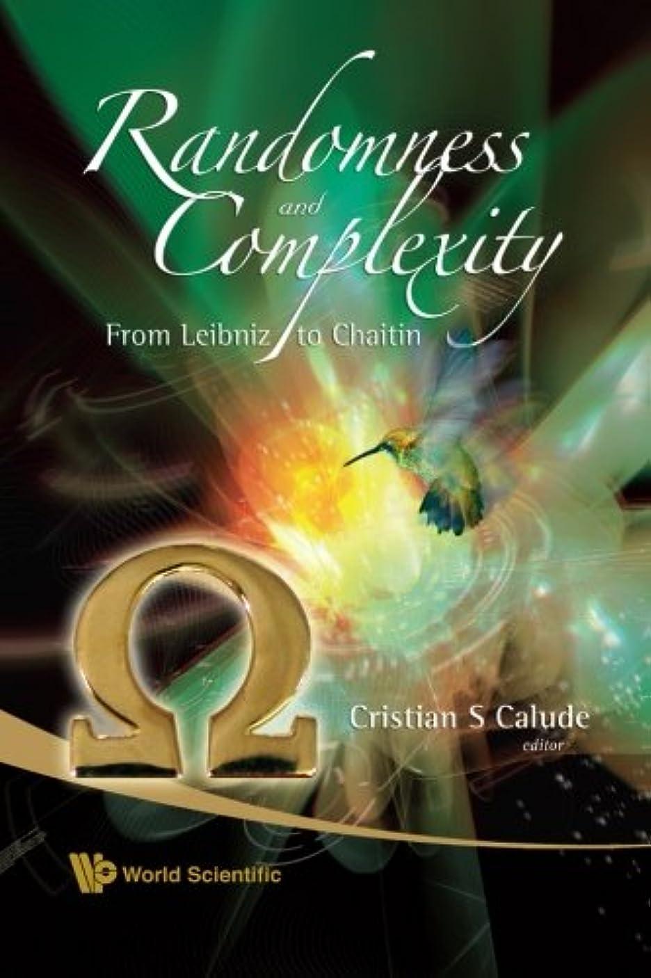 市長終わり水っぽいRandomness And Complexity, From Leibniz To Chaitin