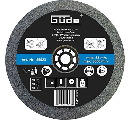 Guede Schleifscheibe 125x20x16 mm K 36
