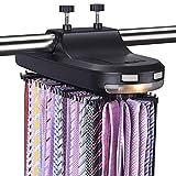 Aniva Tie Rack Motorized Revolving – Organizer, Holder, Hanger for Men's...