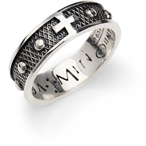 anello uomo gioielli Amen Rosari misura 24 trendy cod. ACR2-24