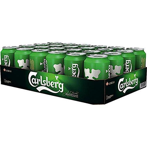 24 Dosen Carlsberg Beer Bier a 0,33L Liter Bier inc. 6.00 Euro EINWEG Pfand