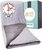 Weighted Blanket - Supports Healthy Sleep & Can Help Reduce Stress - Includes Premium Super Soft & Washable Cover - 7KG - UK King Size - Heavy Blanket - (150cm x 200cm)