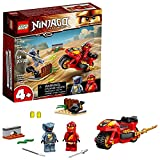 LEGO NINJAGO Legacy Kai's Blade Cycle 71734 Ninja Motorcycle Playset Building Kit, Featuring NINJAGO Kai and a Snake; New 2021 (54 Pieces)