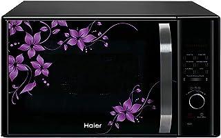 (Renewed) Haier 30 L Convection Microwave Oven (HIL3001CBSH, HAL2WBlack)