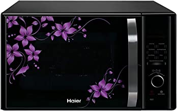 (Renewed) Haier 30 L Convection Microwave Oven (HIL3001CBSH, HAL2WBlack), black (HIL3001CBSH-cr)