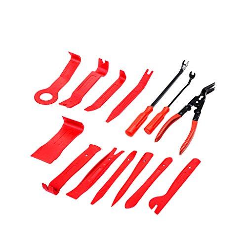Sharplace Set de 14x Outils pour Garnitures Panneau Dash Installation Suppression Enlèvement Porte Voiture