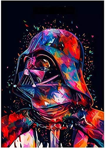 Star Wars 7 The Force Awakens Wall Art Pictures Diamond Painting Full Round Drill 5D DIY Diamond Painting Embroidery ...