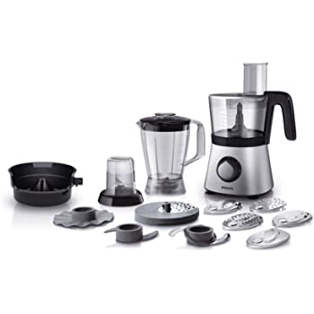 Philips HR7769/00 – Robot de cocina (Cuenco, 30 funciones), color negro/plata: Amazon.es: Hogar