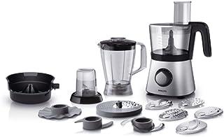 Philips HR7769/00–Robot de cocina (Cuenco, 30funciones), color negro/plata