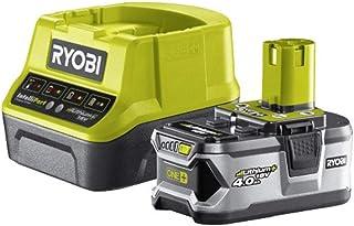 Ryobi 4892210152145 Pack Cargador 1 h + 1 Batería Litio-Ion