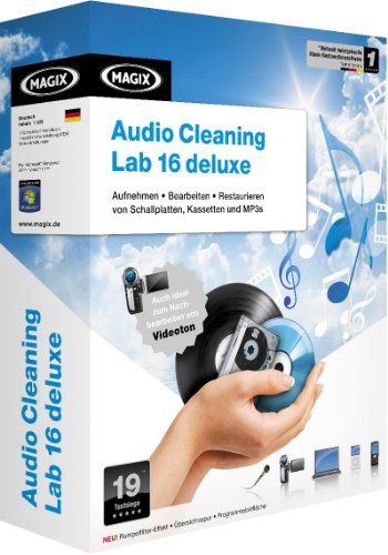 MAGIX Music Cleaning lab 16 deLuxe (Minibox)