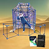 Fort Building Kit for Kids | Build Indoor Blanket Forts with The Ultimate Fort Builder | Large 236 Piece Boys and Girls Fort Magic Building Set | Coolest Ever Fantasy Fort Construction Toy