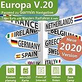 Europa V.20 - Profi Outdoor Topo Karte - Passend für Garmin GPSMap 62, GPSMap 62s,GPSMap 64, GPSMap 64s, GPSMap 64st, GPSMap 66s, GPSMap 66st