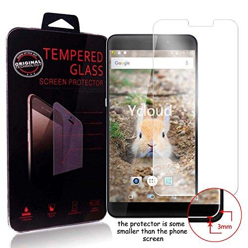 Ycloud Panzerglas Folie Schutzfolie Bildschirmschutzfolie für UMIDIGI MAX screen protector mit Festigkeitgrad 9H, 0,26mm Ultra-Dünn, Abger&ete Kanten