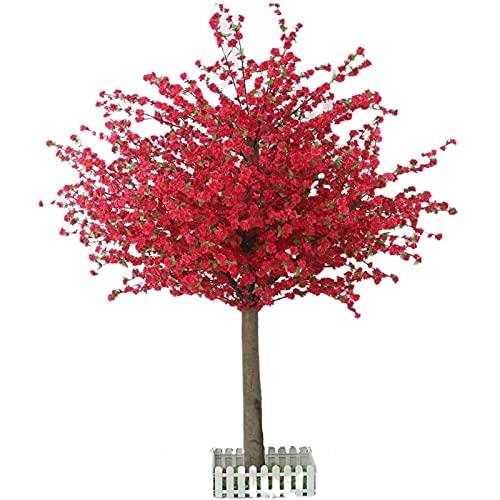 Artificial Bonsai Cherry Tree