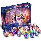 Joyjoz 銀河スライム 24個入 大容量 slime kit スライムキット 星空スライム キラキラ ふわふわ スライムボール