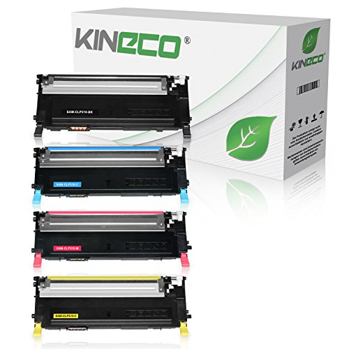 4 Toner kompatibel mit CLP-310, CLP-315, CLX-3170FN, CLX-3175FN - Schwarz 2.500 Seiten, Color je 2.000 Seiten