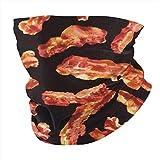 Bandanas Headwrap Bacon Printing Face Scarf Cover Mask - Neck Gaiter Sun Dust Bandanas