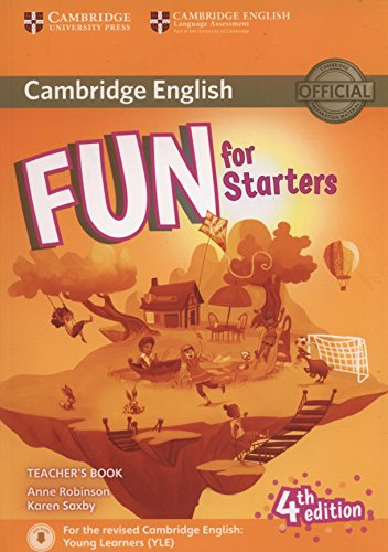 Fun for Starters Teacher's Book with Downloadable Audio [Lingua inglese]